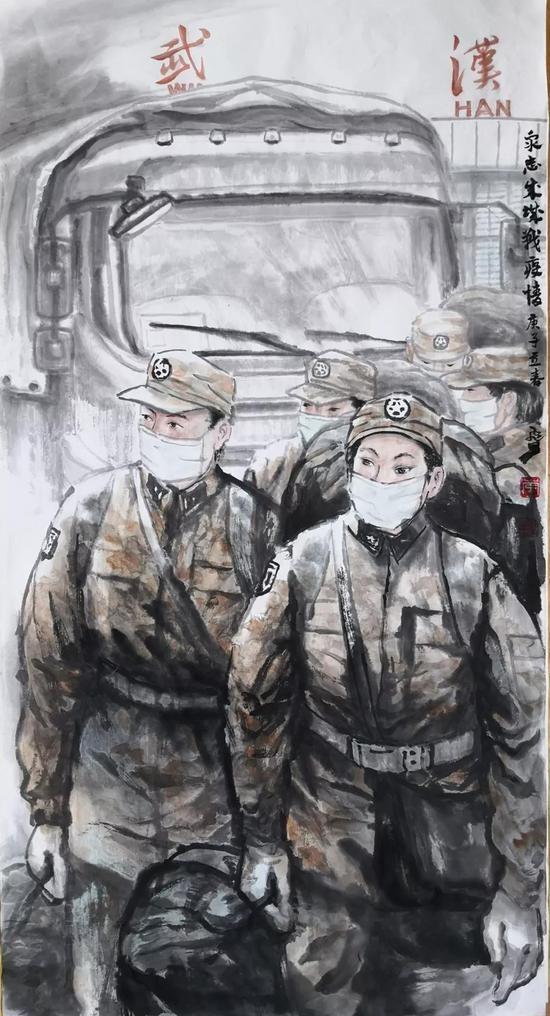 众志成城战疫情(广东江门分行 李飞星)